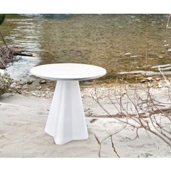 Tavolo in plastica Compass-q/t di Domitalia per esterni