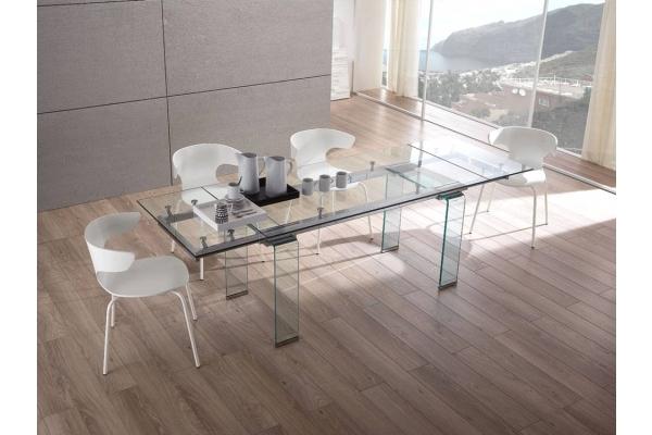 tavoli in vetro, allungabili e di design moderno, per arredare il tuo ...