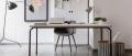 Tavolo Master di Midj con struttura in acciaio fisso o allungabile