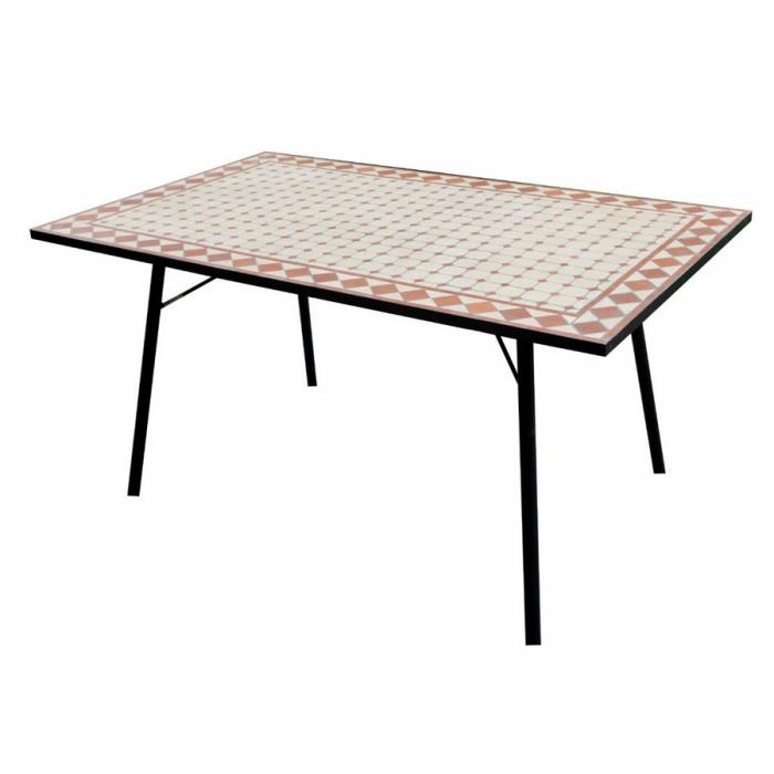 Greenwood Tavolo Rettangolare Mosaico - Tavoli da esterno ...