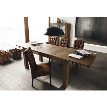 Tavolo Nantes allungabile di Altacorte in legno