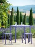 Tavolo Quatris in ferro da giardino