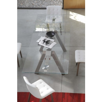 Tavolo rettangolare fisso Aron di Bontempi