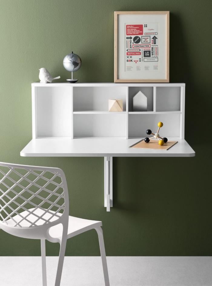 Tavolo Space Boxdi Connubia by Calligaris allungabile in nobilitato bianco