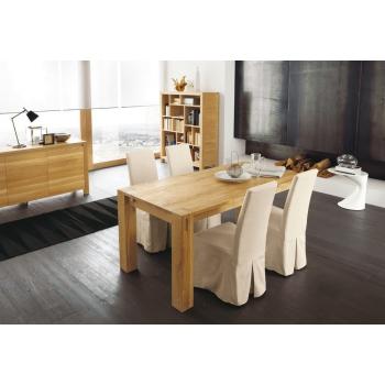 Tavolo Stoccolma fisso di Altacorte in legno