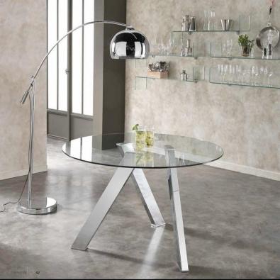 tavoli in vetro, allungabili e di design moderno, per arredare il ...