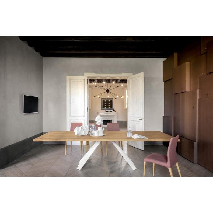 Tavolo Ventaglio allungabile di Tonin Casa