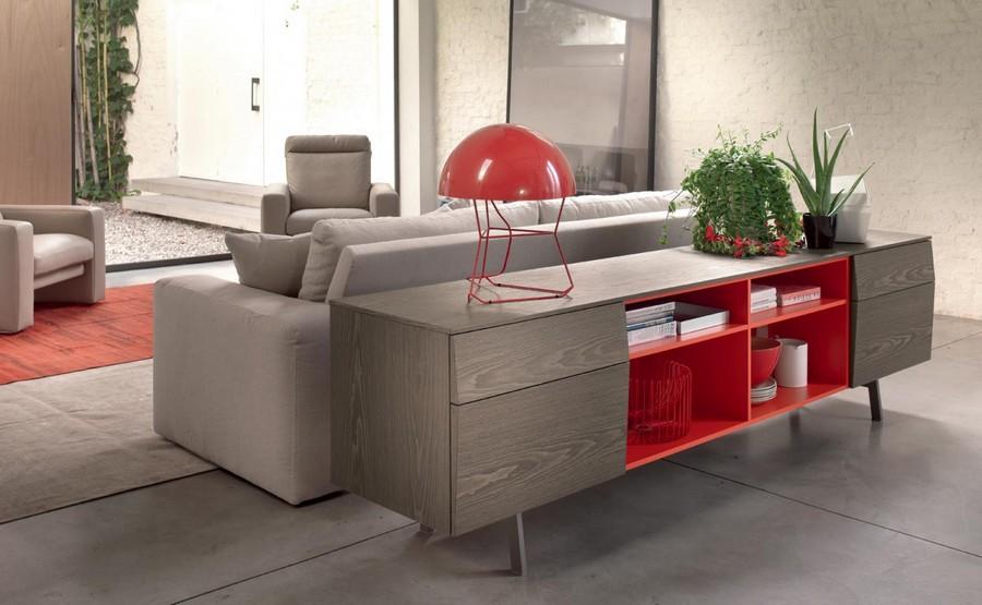 Madia Amsterdam von Bontempi ist ein elegantes Möbelstück für Ihr Wohnzimmer