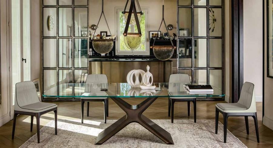 Tonin Casa Calliope Tisch Tische Gleiche Ausstattung