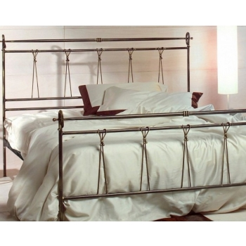 Anna schmiedeeisernes Bett aus Cosatto