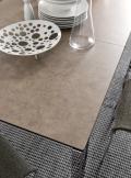 CB / 4010-FMV-180 Connon Tisch von Connubia von Calligaris mit Keramik- oder Glasplatte fixiert