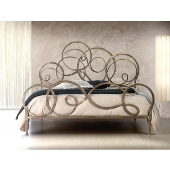 Doppelbett aus Schmiedeeisen Cosatto