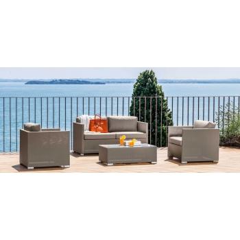 Talenti-Möbel der Mallorca-Linie für eleganten und modernen Außeneinsatz