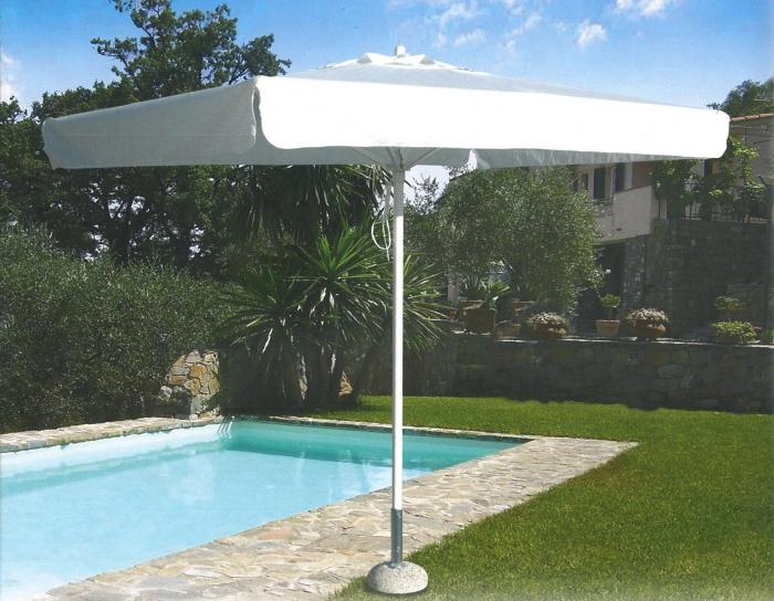 Sonnenschirm Umbrella von Tegosolis mit Aluminiumstange
