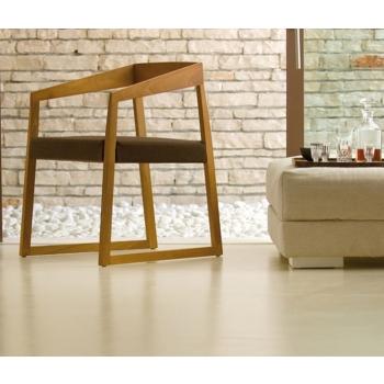 Pedrali Sign 455 Sessel mit Sitz aus Stoff, Kunstleder