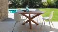 Abs Bridge Stuhl von Talenti aus Kunststoff für den Außenbereich