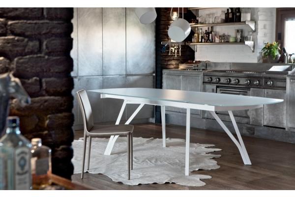 Bonata Stuhl in Bontempi aus gepolstertem und gepolstertem Stahl