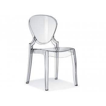 Queen-Stuhl Pedrali aus Polycarbonat