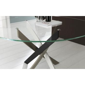 Feststehender Tisch Barone Ovale von Bontempi