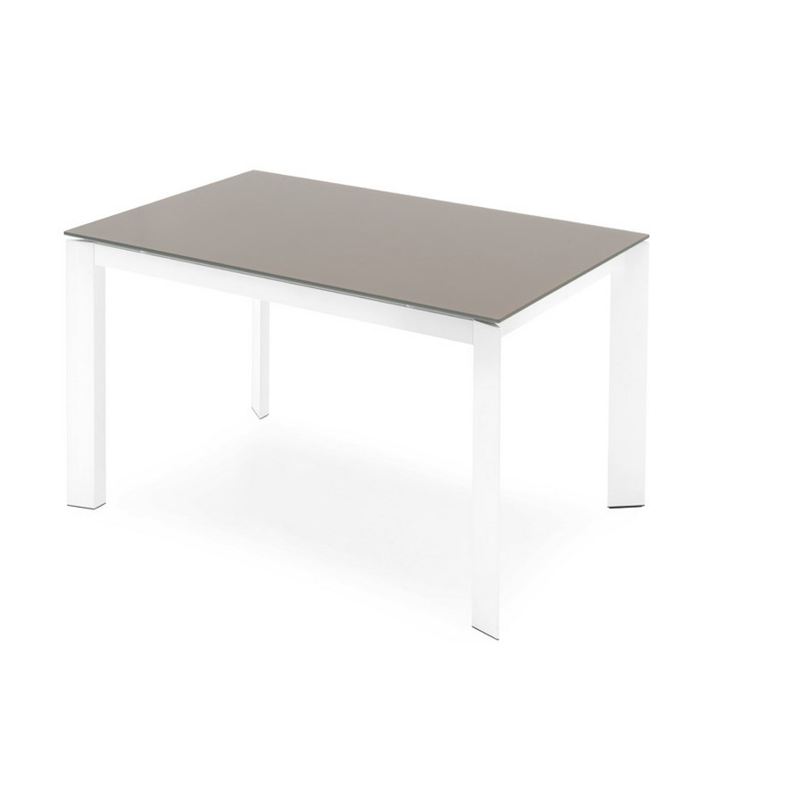 Tavolo Allungabile Vetro Calligaris.110 Baron Extending Table By Connubia By Calligaris With Glass Or