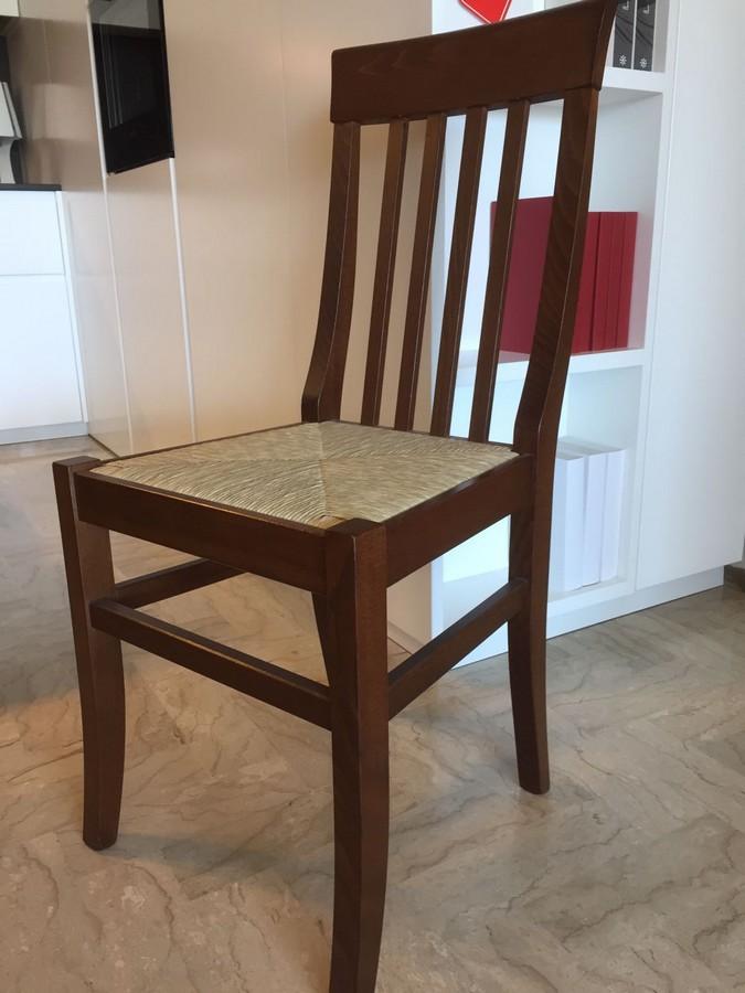 Sedie Da Cucina Impagliate.Chair In Beech Wood Camilla Di Arredamento Pari