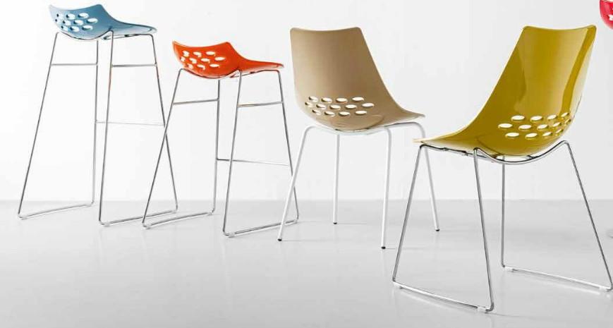 Jam Calligaris Prezzo.Jam Chair By Calligaris Plastic Connubia