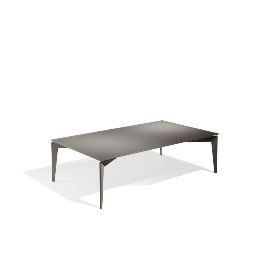 Top Cucina In Vetro Temperato nordic coffee table by pezzani structure in painted steel and tempered  glass top