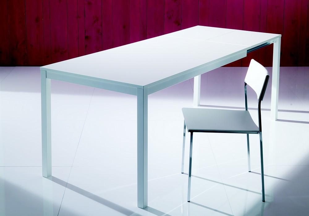 Mago Bontempi Extendable Table Melamine Crystal Laminated
