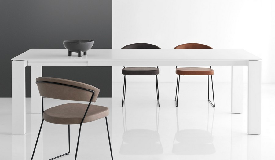 Tavolo Calligaris Bianco Allungabile.Sigma Xl Table By Connubia By Calligaris Extendable With Wooden Top