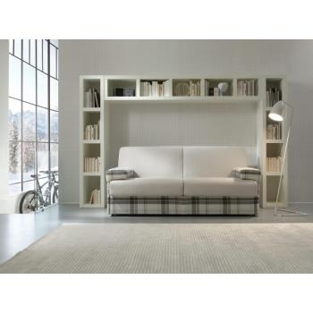 Three seater sofa Felis coated in fabric or eco-leather