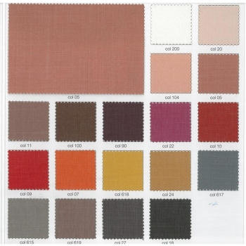 Square bed & Half Vela Smooth Fabric