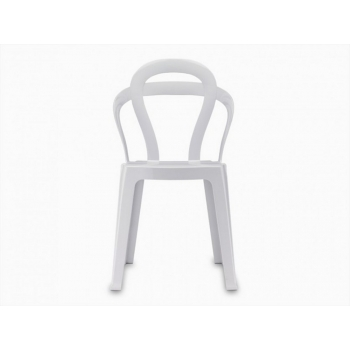 Scab Design Stackable chair Titi white full color
