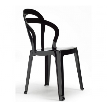 Scab Design Stackable chair Titi full black