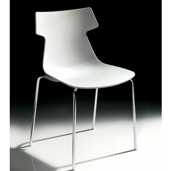 stackable chair Julia Ingenia Bontempi