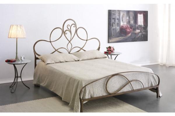 double bed in wrought iron Artemisia Cosatto