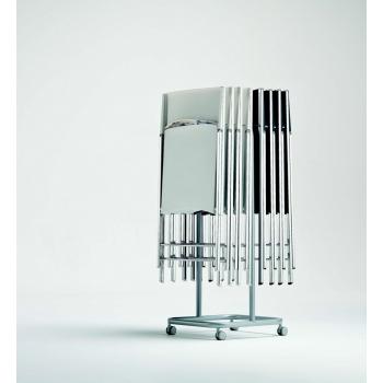 Cart for chairs folding Ingenia Bontempi