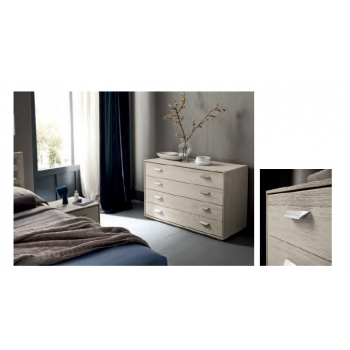 Dresser Fly four solid wood drawers Altacorte