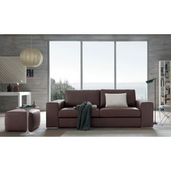 2 sleep sofa Derek in fabric or leather