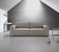 Comfortable and elegant Baxton sofa in fabric or eco-leather