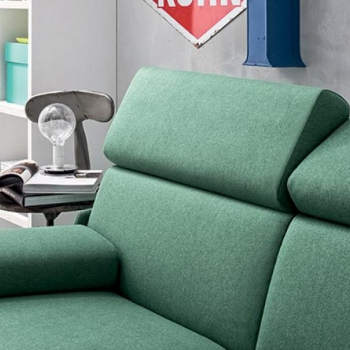 Bonnie sofa bed in eco-leather or fabric