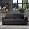Milo sofa bed in eco-leather or fabric