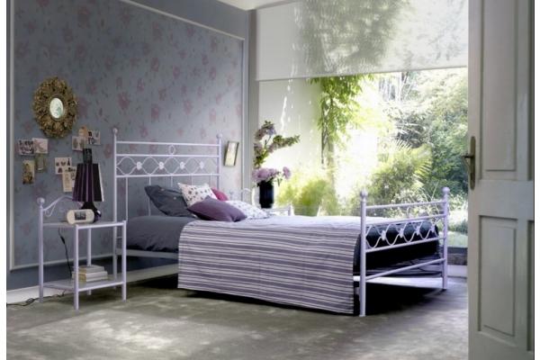 wrought iron bed Incanto Cosatto 140