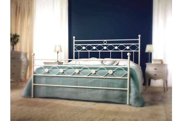 double bed in wrought iron Charm of Cosatto 180