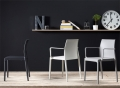 Chloe chair Trend Mon Amour with Scab Design armrests