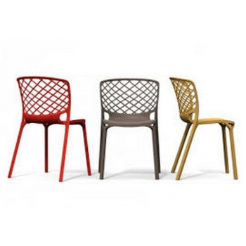 Chair Of Gamera Connubia By Calligaris Also Plastic For External