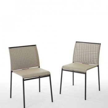 Lola stackable chair by Bontempi Ingenia