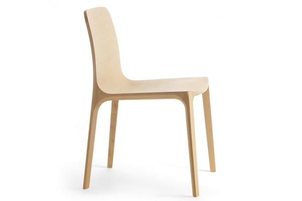 oak wooden chair Frida 752 Pedrali