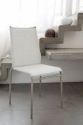 Stackable Liù chair by Ingenia di Bontempi