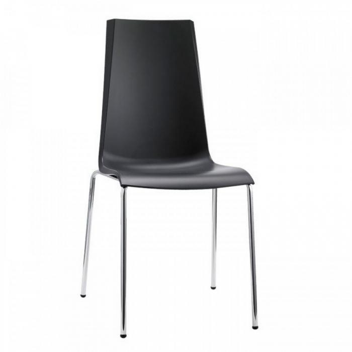 Mannequin chair 4 legs stackable polypropylene of Scab Design