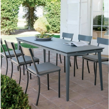 Vermobil Mogan chair in iron for outdoor use